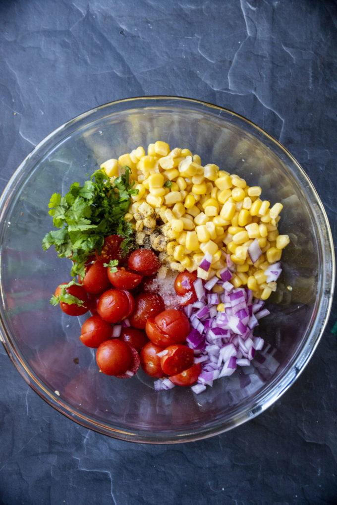 tomato corn salad ingredients