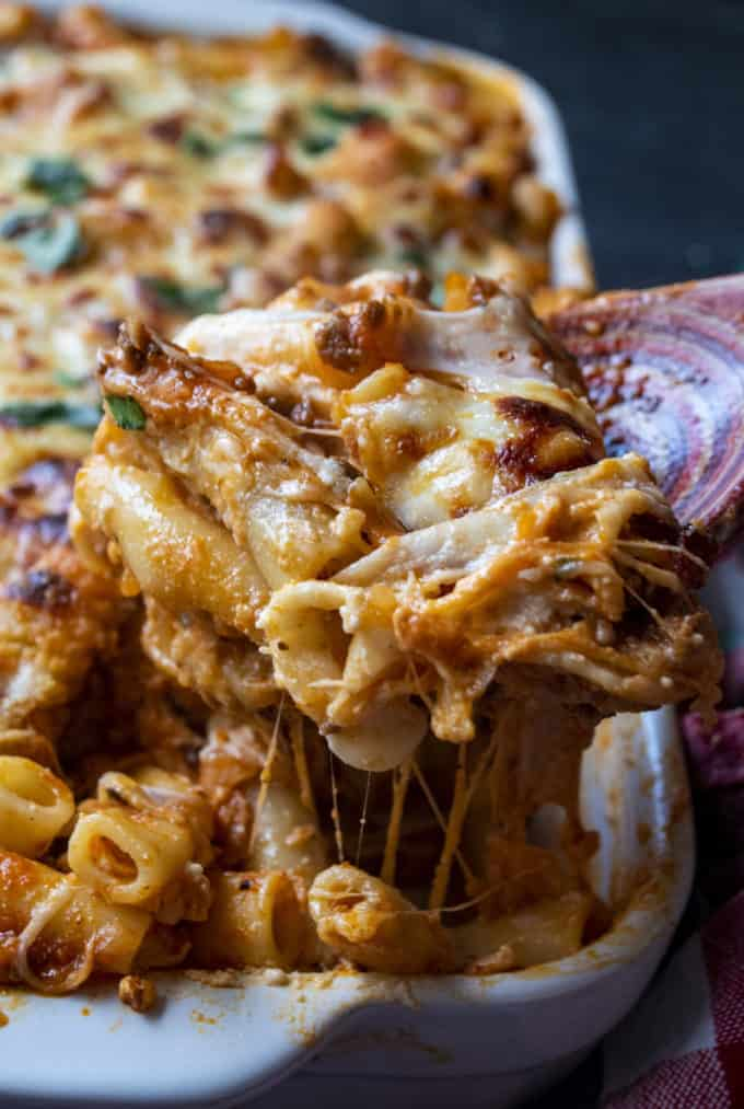 baked ziti with ricotta