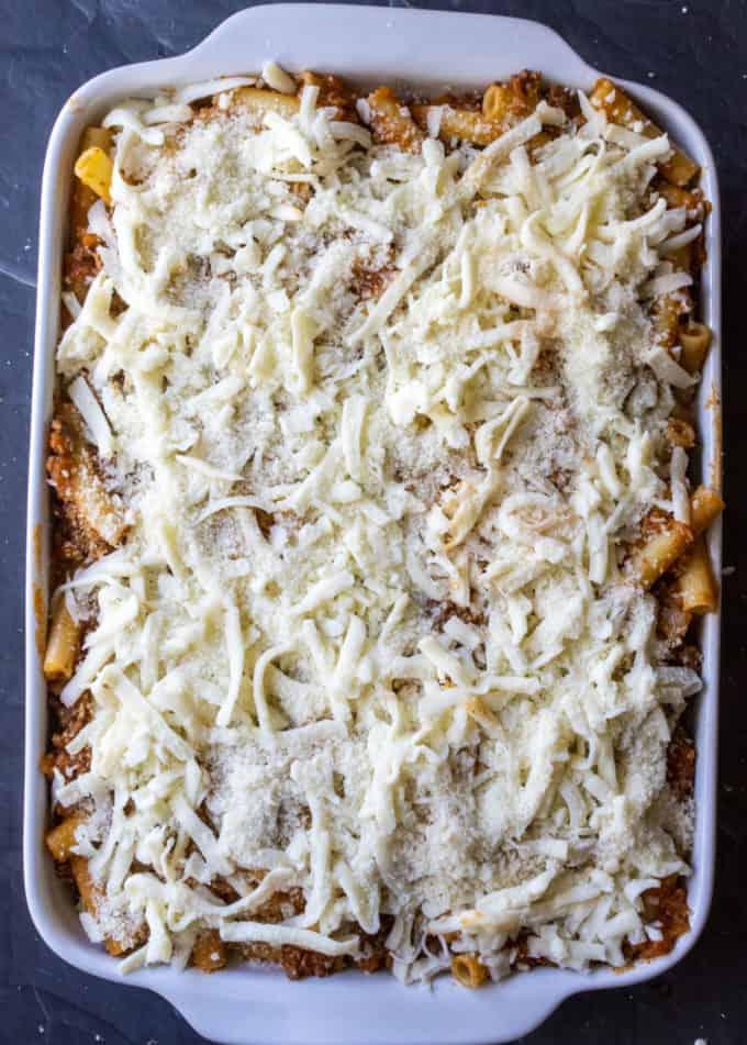 cheesy baked casserole