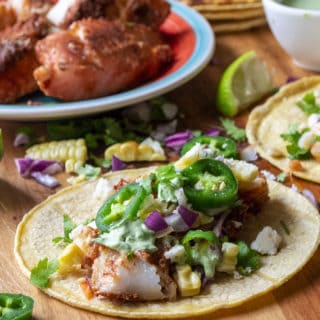 baked fish taco recipe