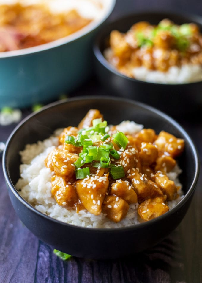Homemade Spicy Orange Chicken