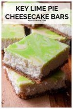 Key Lime Pie Cheesecake Bars are a creamy, tangy spin on a perfect key lime pie recipe. Creamy cheesecake filling with a tangy key lime flavor and a graham cracker crust make these easy to make key lime pie bars the perfect easy summer dessert. #keylimecheesecakebars #keylimecheesecakebarseasy #keylimepiecheesecakebars #bestkeylimecheesecakerecipe #keylimecheesecake #keylimepiecheesecake #summerdessertrecipesforacrowd #easysummerdessertrecipes #summerdessertsforabbq