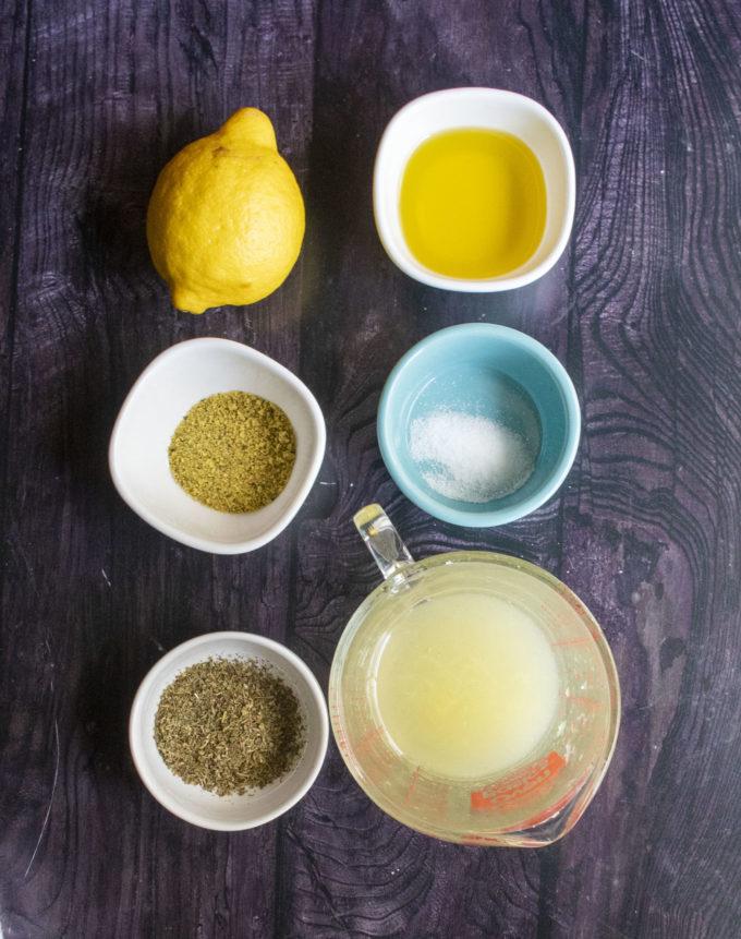 lemon marinade ingredients